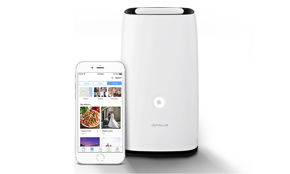 Apollo Cloud 2 Duo 8TB Personal Cloud Storage