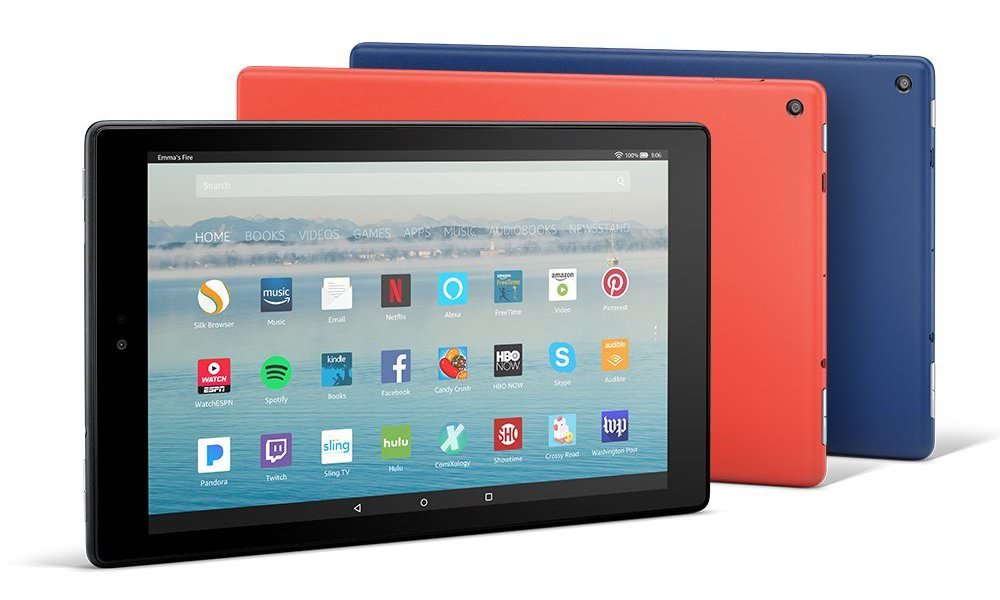 Amazon Fire HD10 Tablet (2017)