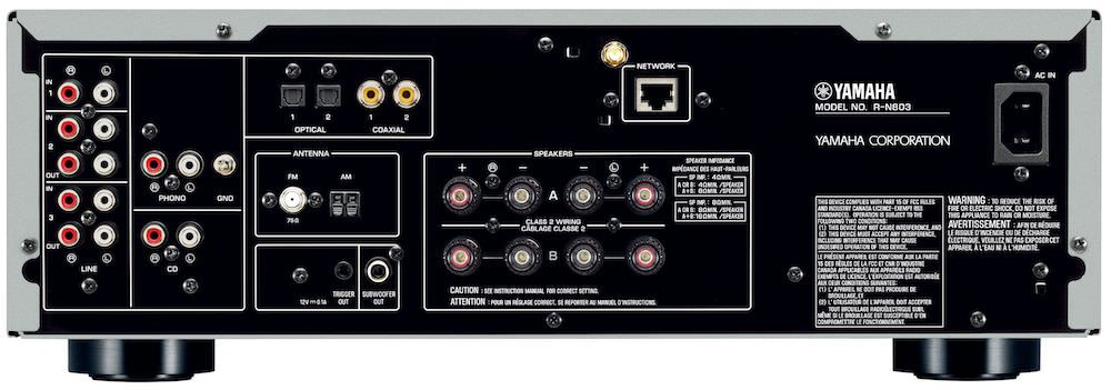 yamaha r n803 stereo receiver gets ypao. Black Bedroom Furniture Sets. Home Design Ideas