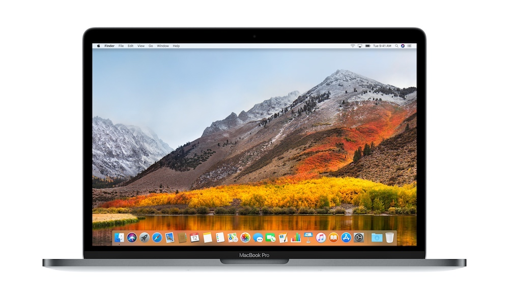 Apple macOS High Sierra on MacBook