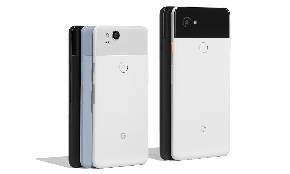 Google Pixel 2 and Pixel 2 XL Smartphones 2017