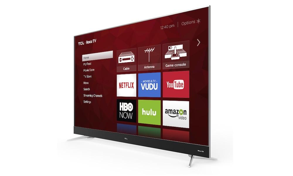 TCL 75C807 4K HDR Roku TV