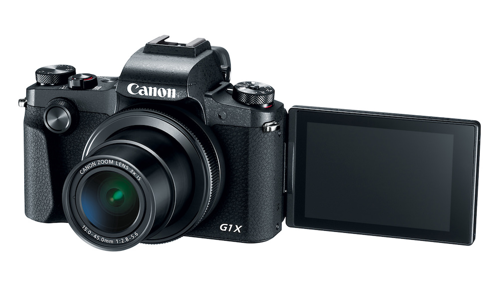 Canon PowerShot G1 X Mark III Digital Camera Flip out LCD