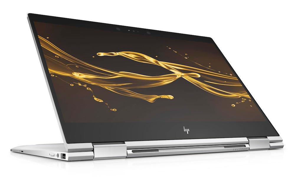 HP Spectre x360 Natural Silver Stand Mode Convertible Laptop