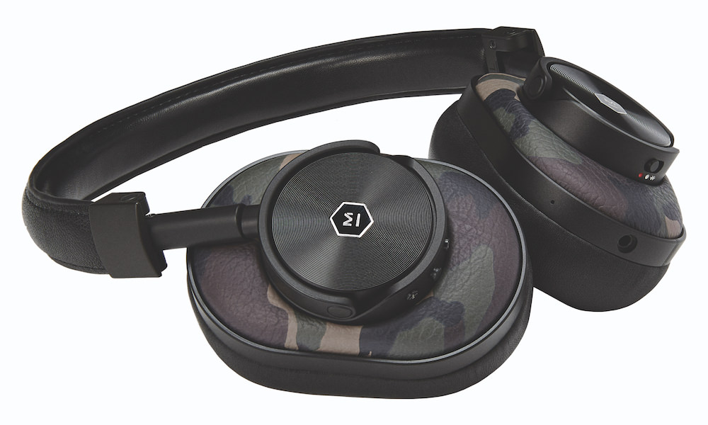 Master & Dynamic MW60 Wireless Headphones in camouflage (2017 Greene Street Collection)