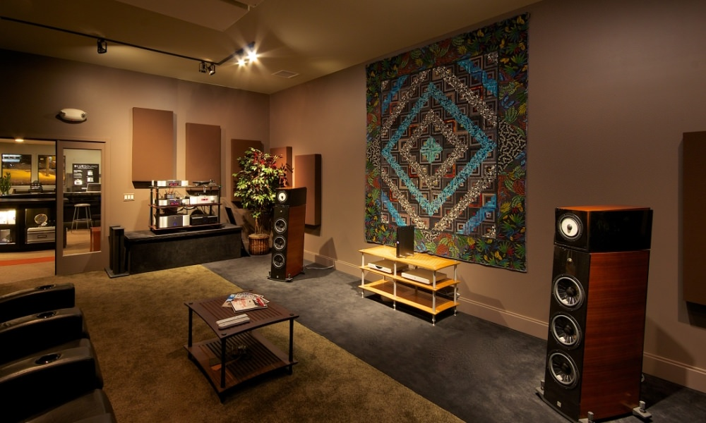 Treated Listening Room