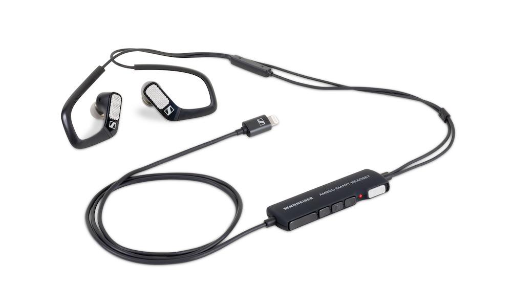 Apogee and Sennheiser AMBEO SMART HEADSET in Black