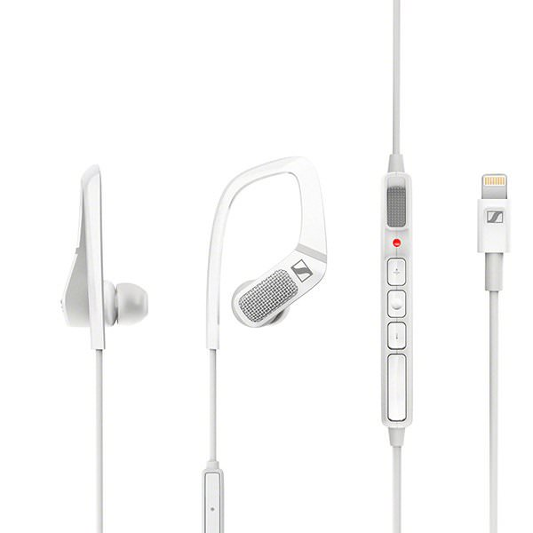 Apogee and Sennheiser AMBEO SMART HEADSET in White