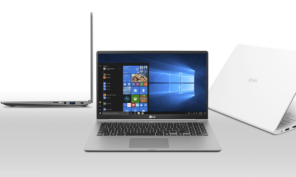 New LG Gram Notebooks Announced