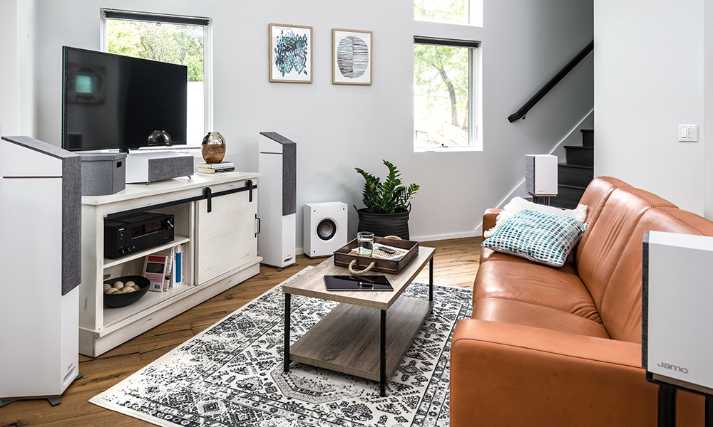 Jamo Studio 8 Home Theater Speaker System - Lifestyle Photo