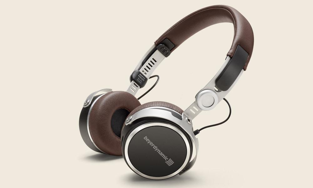 beyerdynamic Aventho wireless on-ear headphones (brown)