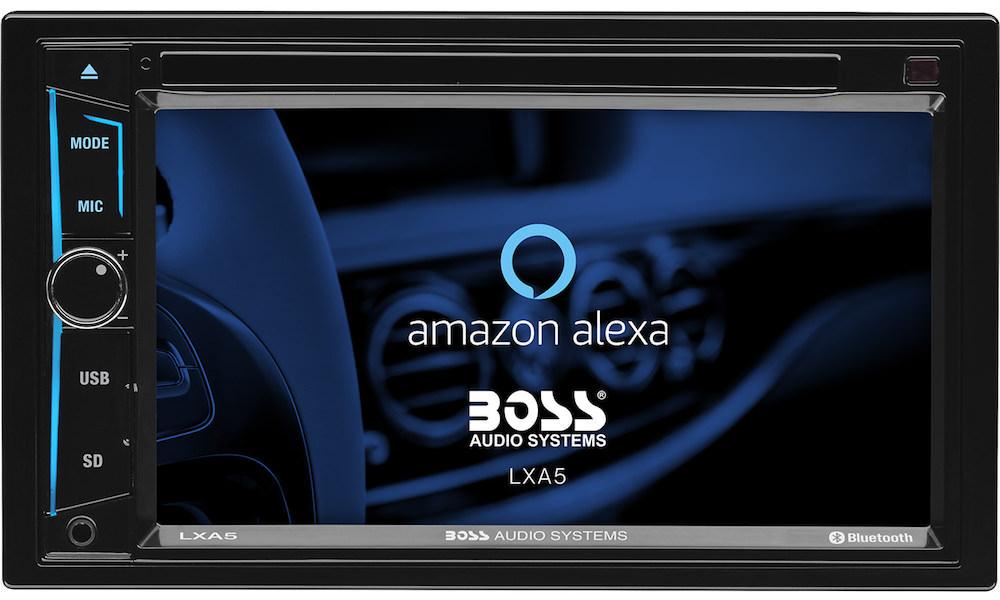Boss Audio LXA5 Amazon Alexa enabled head unit