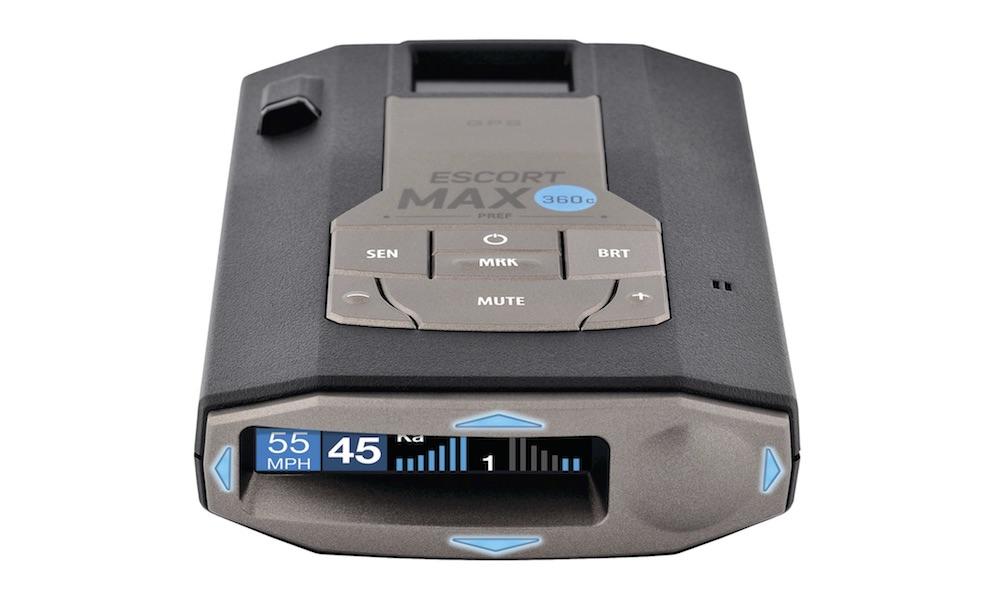 ESCORT MAX 360c Wi-Fi Connected Radar / Laser Detector System
