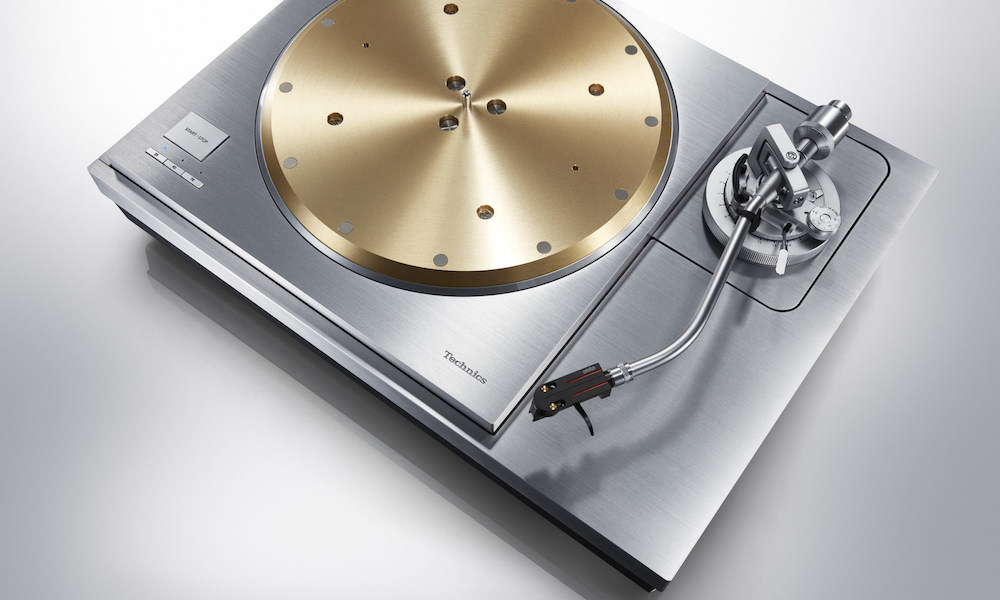 Technics SL-1000R Direct Drive Turntable System Top View