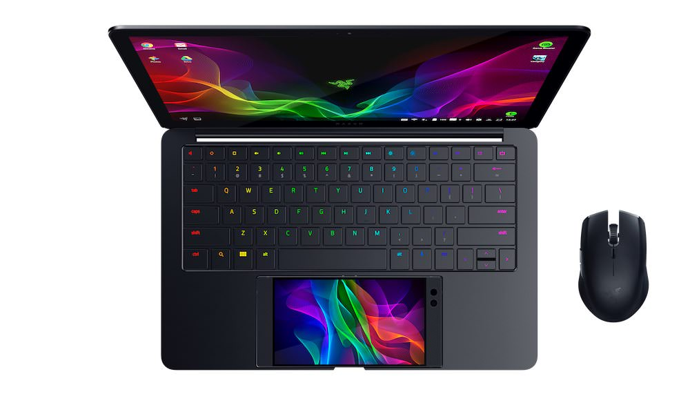 Razer Project Linda Laptop/Phone Hybrid Concept with Atheris Mouse