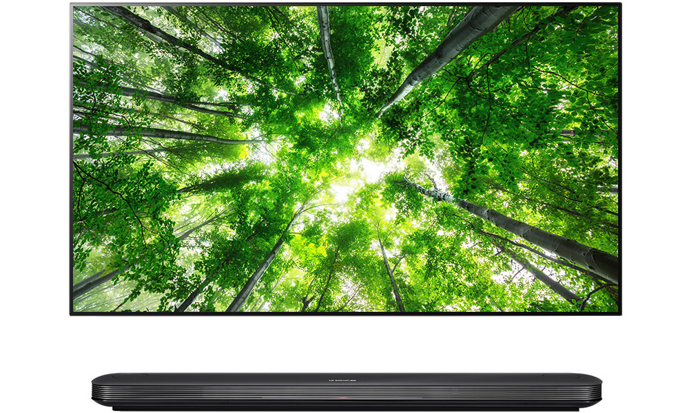 LG SIGNATURE AI OLED TV Picture-on-Wall W8 Series (2018)