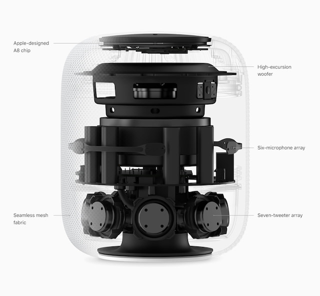 Apple HomePod Internal Parts