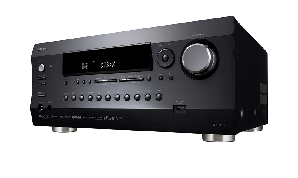 Integra DRX-R1.1 11.2-channel THX Dolby Atmos DTS:X A/V Receiver with 4K HDBaseT