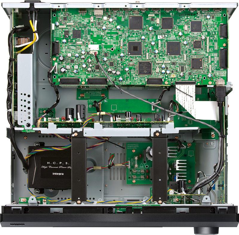 Integra DRX-R1.1 A/V Preamplifier Inside Top View