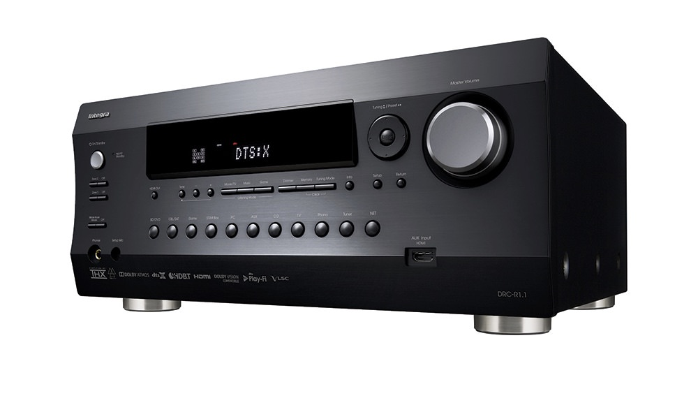 Integra DRC-R1.1 11.2-channel THX Ultra Dolby Atmos DTS:X A/V Preamplifier with 4K HDBaseT