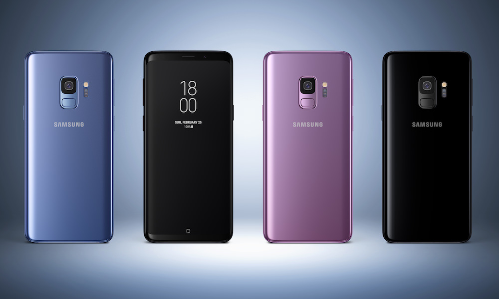 Samsung Galaxy S9 Smartphone colors