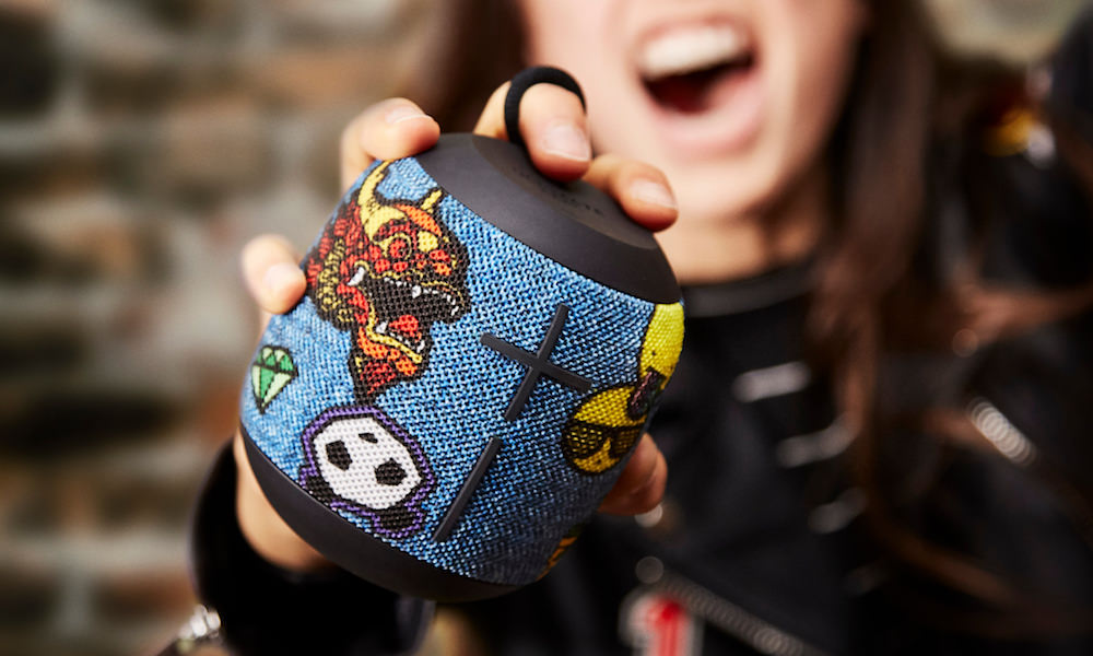 Ultimate Ears WONDERBOOM Freestyle Collection - Patches Lifestyle Photo