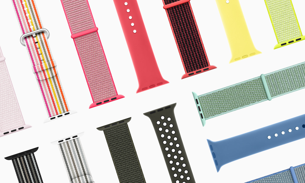 Apple Watch Series3 spring bands 2018