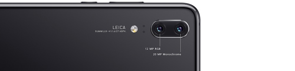 Huawei P20 Pro Smartphone Front and Back
