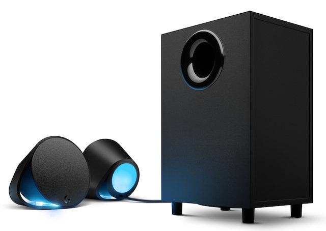logitech g560 pc gaming speakers light up a room. Black Bedroom Furniture Sets. Home Design Ideas