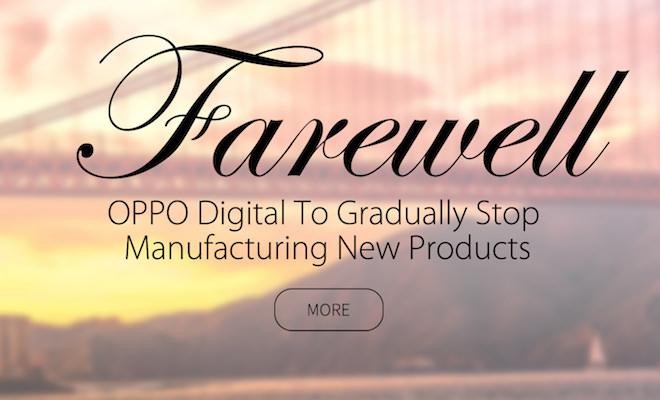 OPPO Digital Farewell