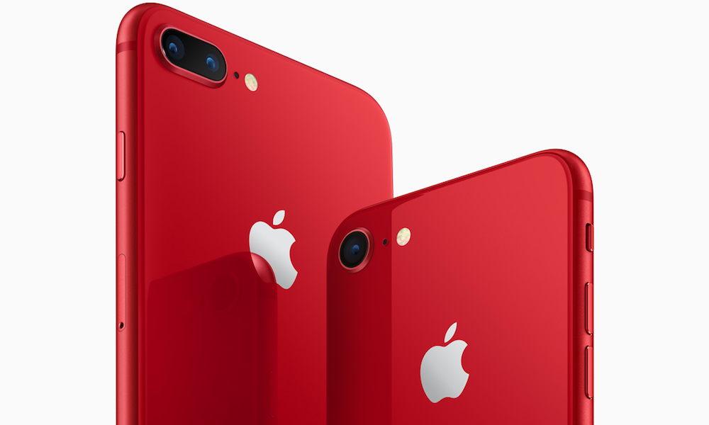 Apple iPhone 8 and 8 Plus PRODUCT(RED)