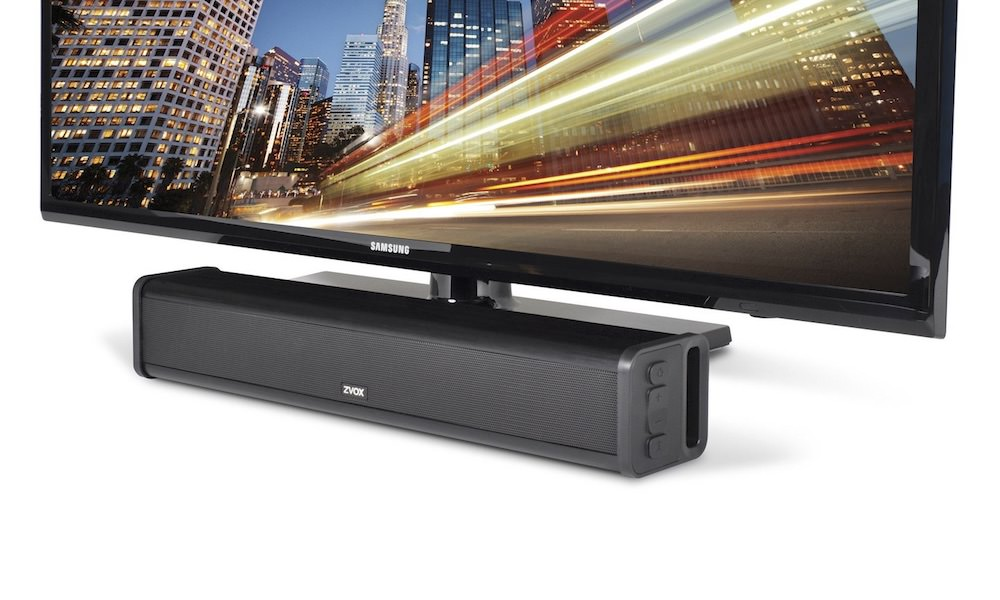 ZVOX AccuVoice AV200 Sound Bar Under TV Speaker