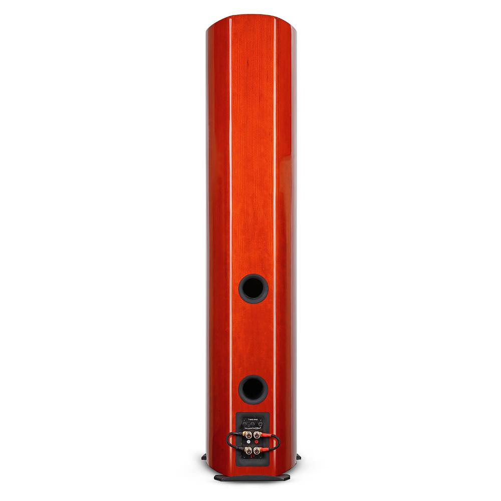 Aperion Audio Verus II Grand Tower Speakers rear (cherry)
