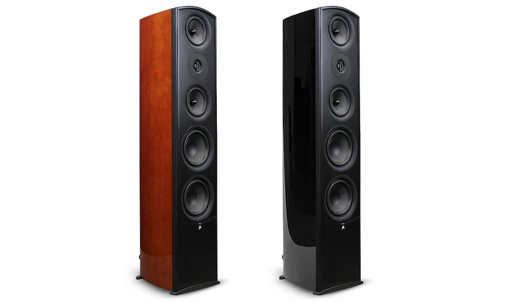 Aperion Audio Verus II Grand Tower Speakers (cherry or black)