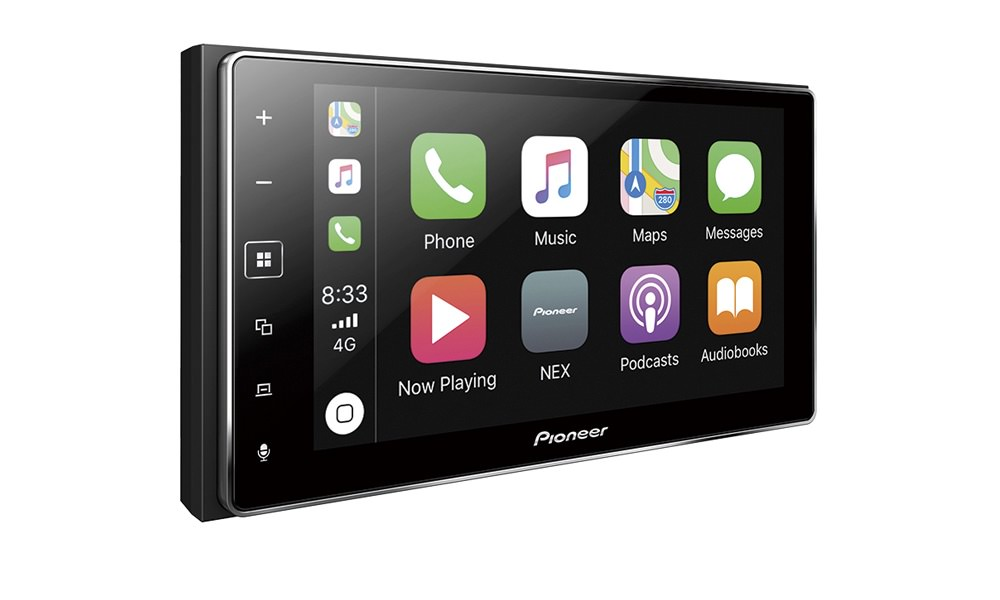 Pioneer MVH-1400NEX In-Dash Car Receiver with Apple CarPlay