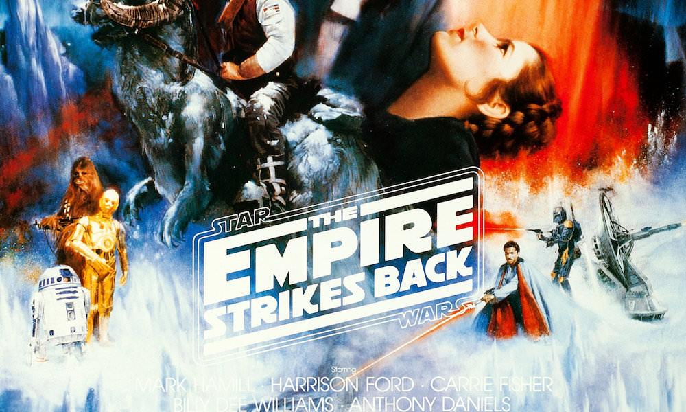 Star War Empire Strikes Back Movie Poster (Roger Kastel Concept) Cropped