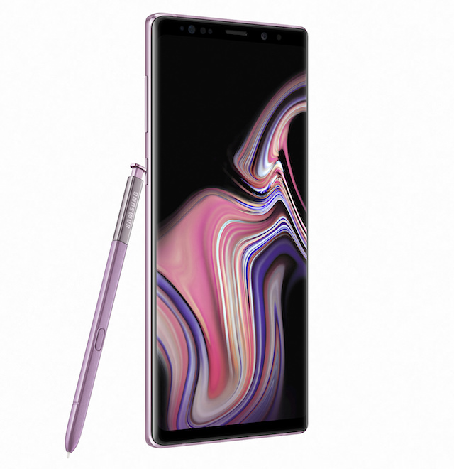 Samsung Galaxy Note9 Smartphone Grows Bigger and S Pen Gets