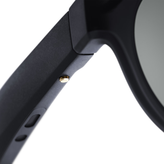 Bose Frames alto (larger) and rondo (smaller) models