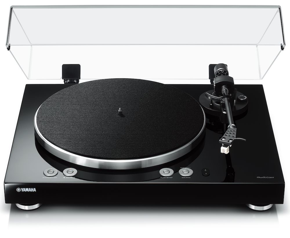 Yamaha MusicCast Vinyl 500 MusicCast Turntable Open