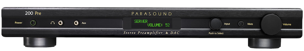 Parasound NewClassic 200 Pre Front