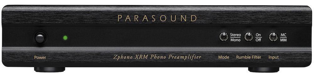 Parasound Zphono XRM Phono Preamplifier Front