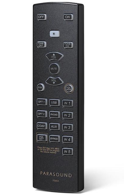 Parasound Hint 6 Remote Control