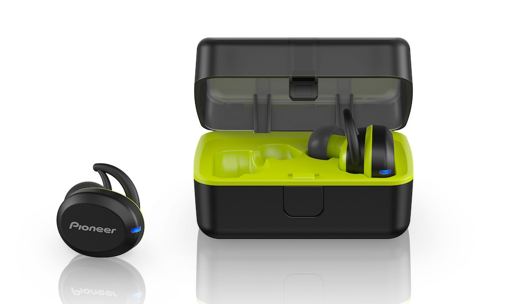 Pioneer SE-E8TW In-Ear Wireless Sports Headphones with Charging Case