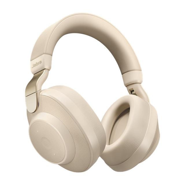 Jabra Elite 85h Wireless Headphones in beige