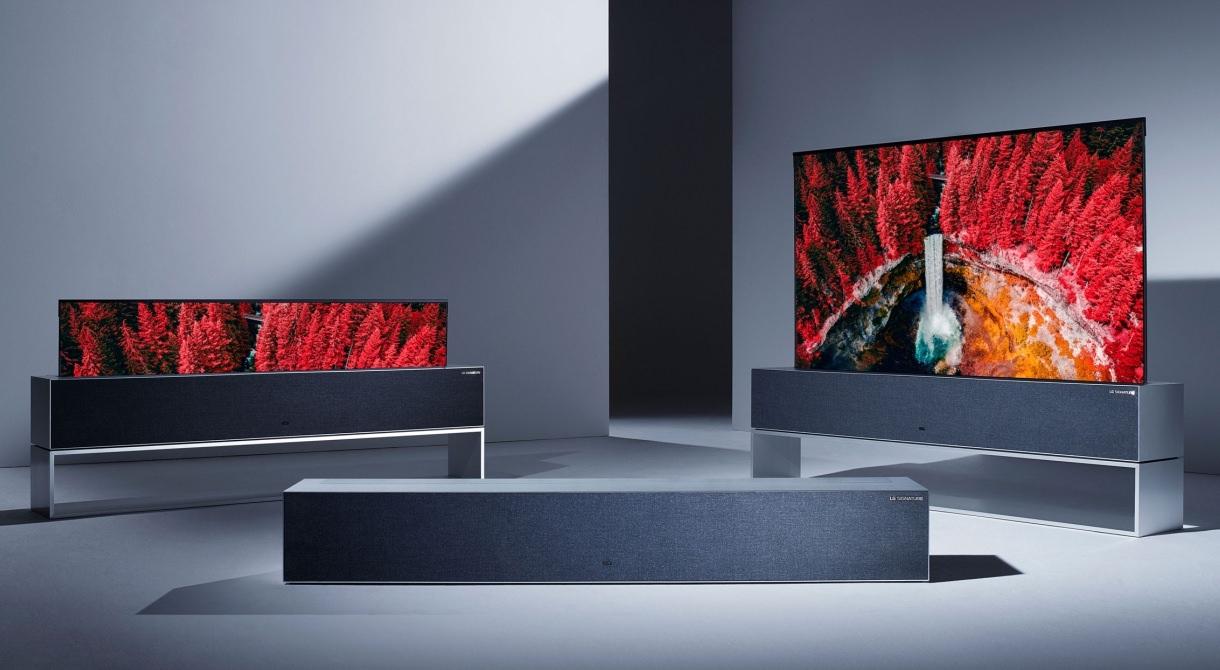 LG Signature OLED TV R Full/Line/Zero Views