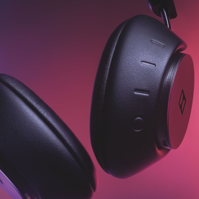 Dolby Dimension Wireless Headphones Closeup