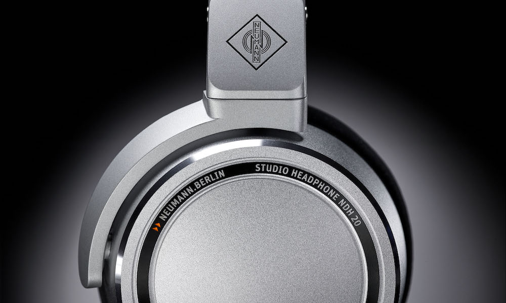 Neumann NDH 20 Studio Headphones side view