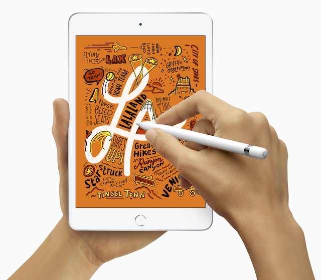 Apple iPad mini (5th generation, 2019 model) adds Pencil support