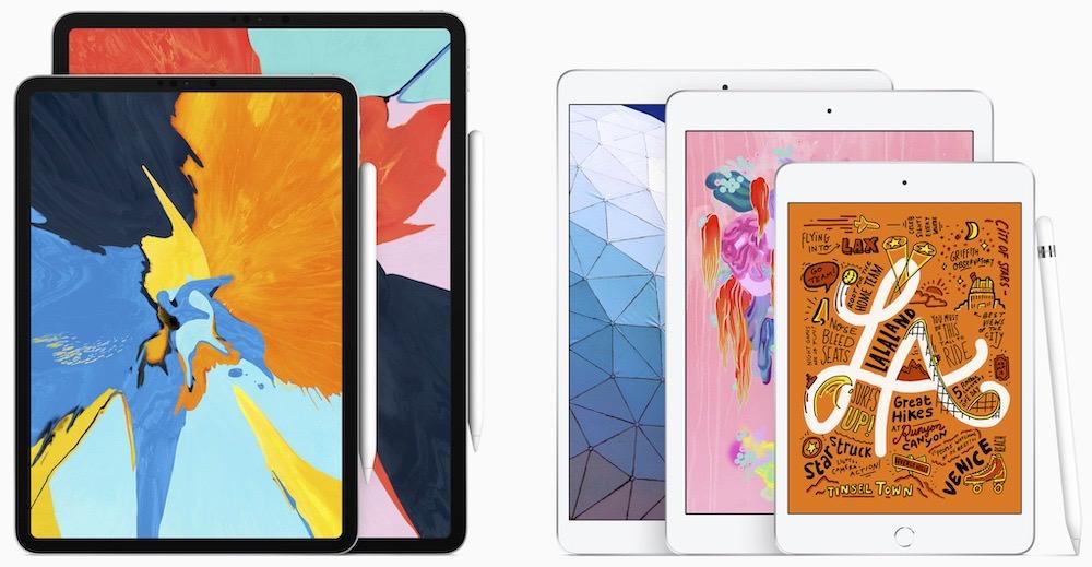 2019 Apple iPad Line-up