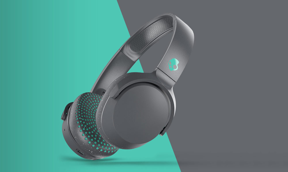 Skullcandy Riff Wireless On-ear Headphones in teal